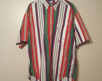 Vintage Tommy Multi colored shirt