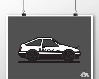 Merveilleux Toy AE86 Poster