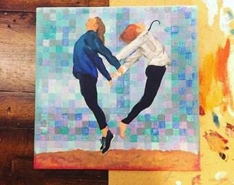 Block Canvas Painting