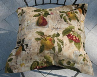 Pillow cover, designer fabric Robert Kaufmann, Chair cushions, cushion, decoration, 40 x 40 cm cushion