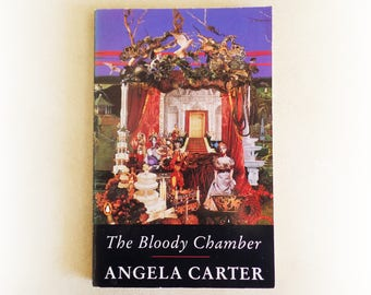 Angela Carter - The Bloody Chamber - The Company of Wolves - Penguin gothic fantasy horror vintage paperback book - 1979