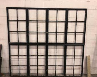 Black Steel Window Pane