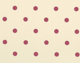 Chintz Dotty à pois toile cirée Wipeclean tissu Design