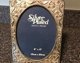 Silverplate Photo Frame Book/Album