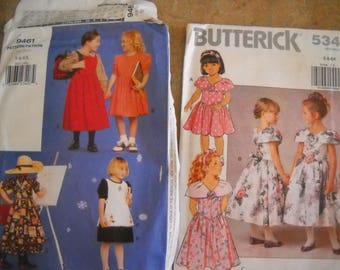 Variety of little girls patters - over 40.00 value!