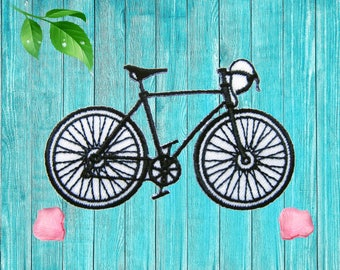 Bicycle Patches Applique Embroidered Patch Iron on Patch