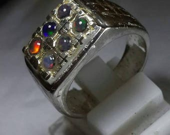 opal with ring