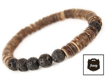 Men Tribal Bracelet, Mens Bracelet, Men Tribal bangle, Mens bracelet homme, Men Bracelet, Men Beaded bracelet, Stretch Bracelet mens