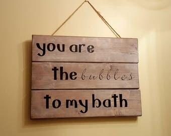 Bathroom Bubbles Decor