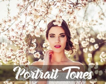 Portrait Tones Lightroom & Photoshop Preset /Premium Camera Raw Preset by Hubafilter