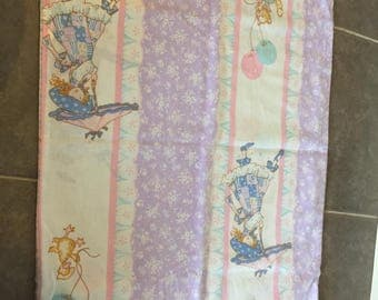 Vintage Holly Hobby pillow case
