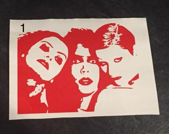Rocky Horror Picture Show Vinyl Decal