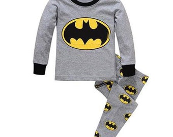 Boys Super Hero Pajamas Set
