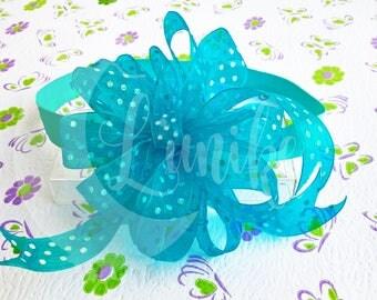 Blue Headband for baby girl