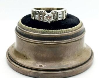14k Yellow Gold Estate Diamond Engagement Ring 0.87TCW