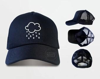 Rain clouds Trucker Hats  Rain cloud Caps Tumblr Caps
