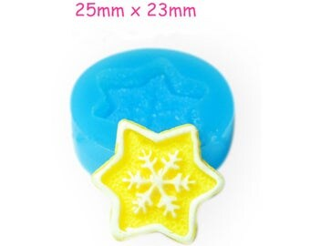 FIMO - snowflake Silicone molds