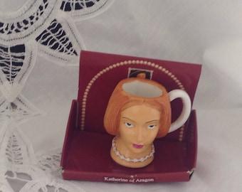 Katherine of Aragon Regency Fine Arts Mini Cups Figure , Queen of Henry VIII Figure