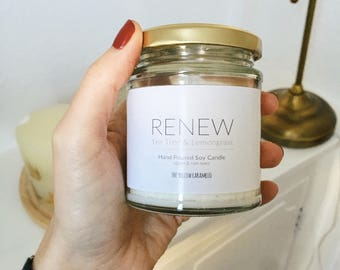 RENEW - 100% natural candle