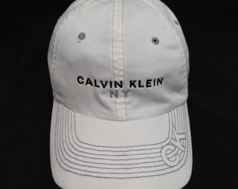 Vintage NY  CALVIN KLEIN Cap Hat, Adjustable fits
