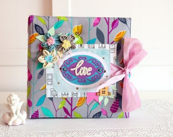 "Scrapbooking photo album ""Love"" 273"