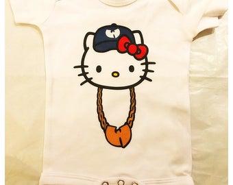 Wu Tang Baby Onesie - One of a Kind- Wu Kitty