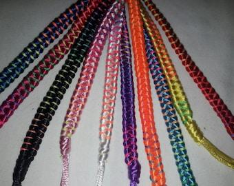 Woven Friendship Bracelet, double row