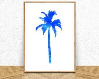 Wall Art, Beach Print, Beach Decor, Palm Wall Art, Nautical Art, Wall Art, Palm Tree Print, Palm Tree Decor, Palm Wall Art, Palm Tree