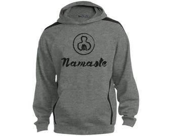 Namaste Men's Sweatshirt with Jersey Lined Hood