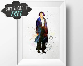 Fantastic Beasts Art Print Poster Printable, Tina Goldstein, And Where To Find Them Porpentina Download, Dorm Wall Art Printable Artwork