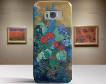 """Odilon Redon, """"Ophelia Among the Flowers"""".Samsung Galaxy S7 Case LG G6 case Huawei P10 Case Galaxy J5 2017 Case and more."""