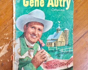 Gene Autry Comico by Dell Comic