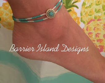 Turquoise Treasure Anklet