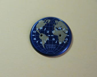 GMT watch dial
