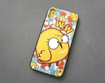 Cartoon iPhone X case, iPhone x case, iPhone x cover, Cute iPhone x case, Animal iphone x case