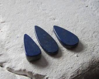 Lapis Lazuli. Lot 3 Pcs. S0448