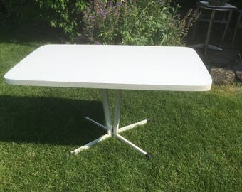 Vintage table Industrial Design sofa Shabby chic occasional table industrial style