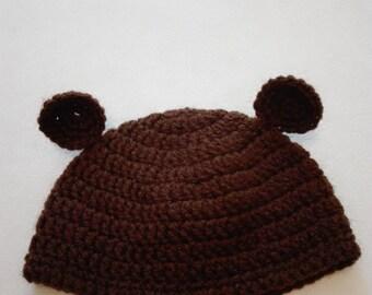 Baby hat, bear