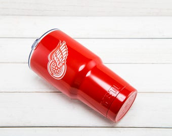 Detroit Red Wings YETI Cup  Detroit Red Wings Cup Detroit Red Wings Birthday Detroit Red Wings Gift Detroit Red Wings Party