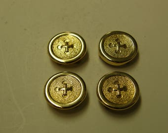 Avon Gold Plated Button Covers