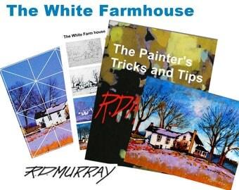 The White Farmhouse Painting Ebook