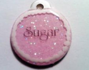 Hand Painted Pet ID tag Frosted Sugar Cookie