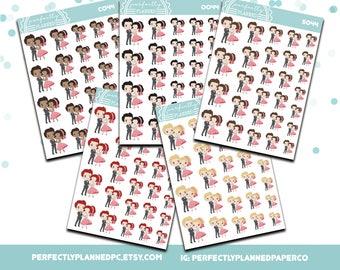 044 | Date Night Dance | Planner Girls Planner Stickers