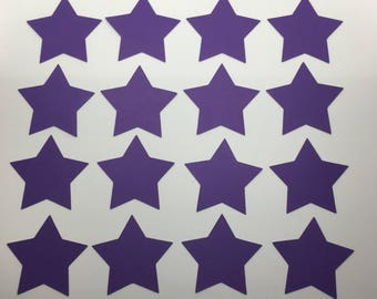 Die Cut Paper Cardstock Stars, Many Colors, Many Sizes