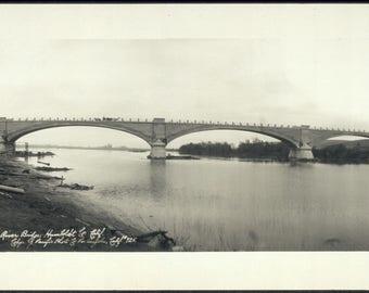 Eel River bridge, Humboldt Co, California