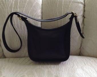Coach Black Leather Legacy Shoulder Bag
