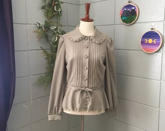 Vintage Vicky Vaughn Junior Blouse Jacket