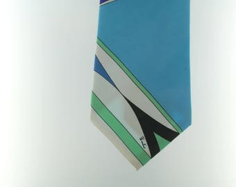 EMILIO PUCCI-vintage tie-New-Stock Fund