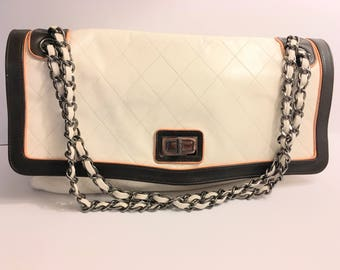 100% Authentic CHANEL Large Flap Bag