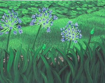 """18"""" x 24"""", Lilies of the Nile"""